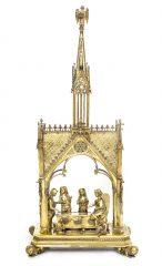 Heiliggrabreliquiar der Kathedrale von Pamplona, Paris, ca. 1255–1258 Domkapitel des Erzbistums von Pamplona (Cabildo de la Catedral de Pamplona)