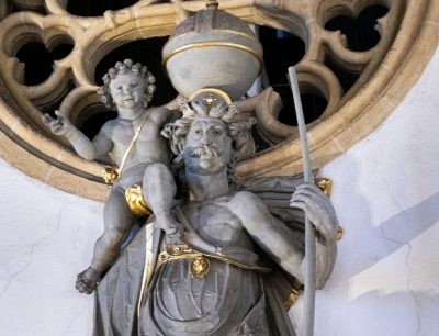 Christophorus-Statue im Dom zu Paderborn, © Diözesanmuseum Paderborn