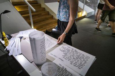 Lange Museumsnacht im Diözesanmuseum. Kalligraphie live.