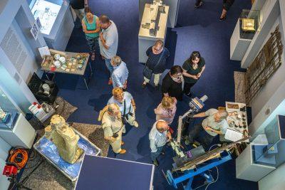 Lange Museumsnacht im Diözesanmuseum. Vor Ort konnte den Restauratoren bei der Arbeit zugeschaut werden.