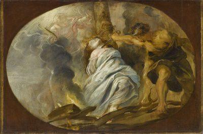 Peter Paul Rubens: Das Martyrium der hl. Lucia, um 1610/1620, Quimper, Musée des Beaux-Arts de Quimper © bpk / RMN-Grand Palais / Mathieu Rabeau