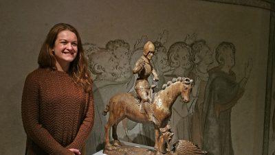 Museumspädagogin Britta Schwemke