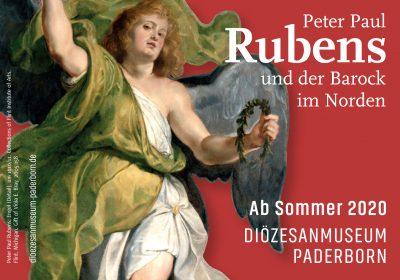 """Vorlage für Anzeige zur Ausstellung """"Peter Paul Rubens und der Barock im Norden"""""""