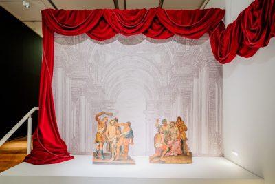 """Blick in die Ausstellung """"Peter Paul Rubens und der Barock im Norden"""". Foto ©DiözesanmuseumPaderborn/Bezim Mazhiqi"""