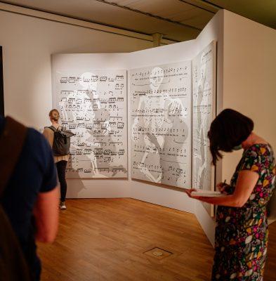 """Rune Mields """"Komm, du süße Todesstunde""""; Presse-Preview der Ausstellung""""Peter Paul Rubens und der Barock im Norden"""". Foto ©DiözesanmuseumPaderborn/Bezim Mazhiqi"""